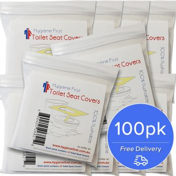 Disposable Paper Toilet Seat Covers – 10x10pk
