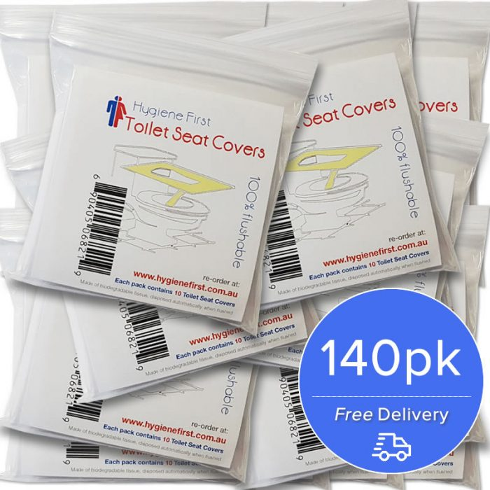 hygiene first toilet seat covers 140pcs