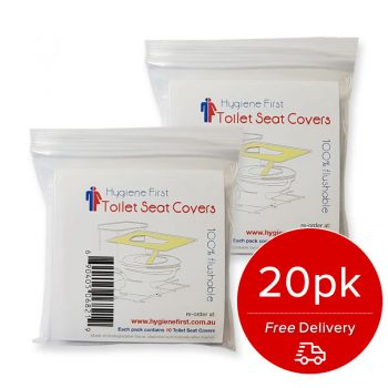 Disposable Toilet Seat Covers – 2x10pk
