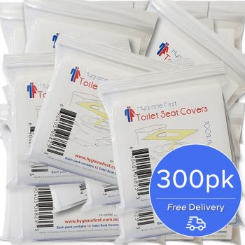 Disposable Toilet Seat Covers – 20x15pk